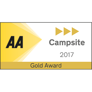 AA Campsite Gold Award